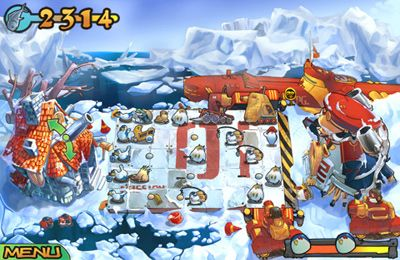 Descarga gratuita de Bear vs Penguins para iPhone, iPad y iPod.