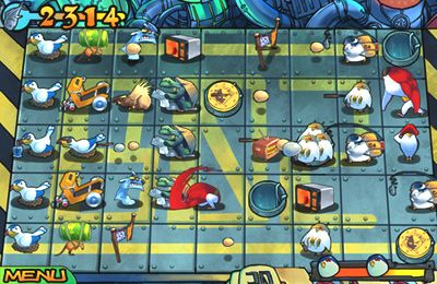 Capturas de pantalla del juego Bear vs Penguins para iPhone, iPad o iPod.