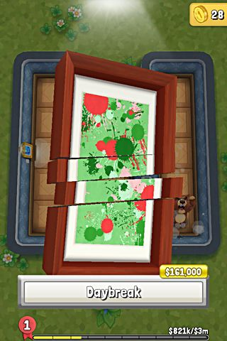 Capturas de pantalla del juego Bears vs. art para iPhone, iPad o iPod.