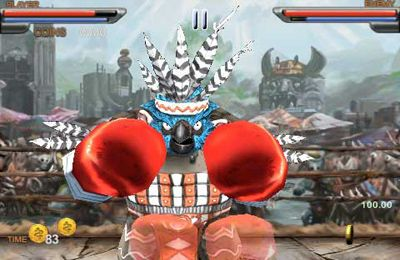 Descarga gratuita de Beast Boxing 3D para iPhone, iPad y iPod.