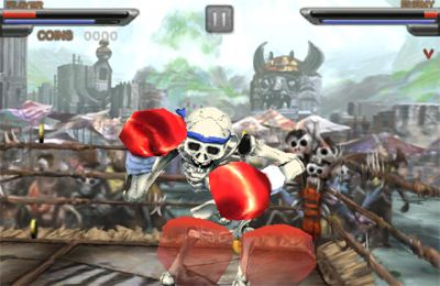 Capturas de pantalla del juego Beast Boxing 3D para iPhone, iPad o iPod.