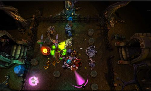 Capturas de pantalla del juego Beast towers para iPhone, iPad o iPod.