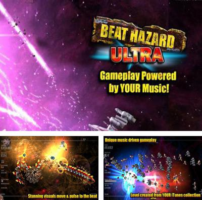 In addition to the game Toad rider for iPhone, iPad or iPod, you can also download Beat Hazard Ultra for free.