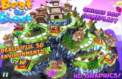 Écrans du jeu Beat The Beast pour iPhone, iPad ou iPod.