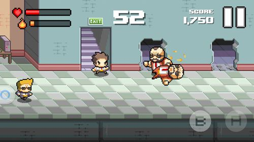 Capturas de pantalla del juego Beatdown! para iPhone, iPad o iPod.