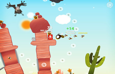 Capturas de pantalla del juego Bee Leader para iPhone, iPad o iPod.