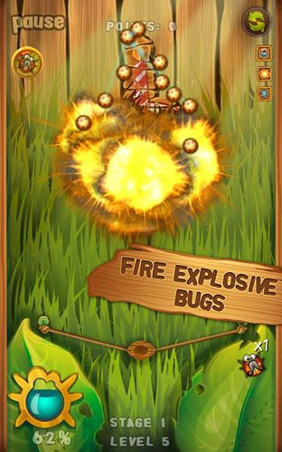 Free Beetle breaker download for iPhone, iPad and iPod.
