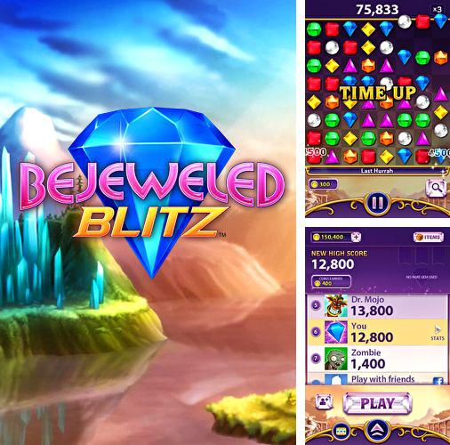 In addition to the game Little Galaxy for iPhone, iPad or iPod, you can also download Bejeweled: Blitz for free.
