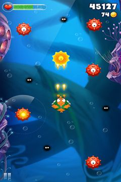 Capturas de pantalla del juego Bellyfish para iPhone, iPad o iPod.