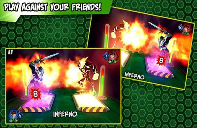 Download Ben 10: Slammers iPhone free game.