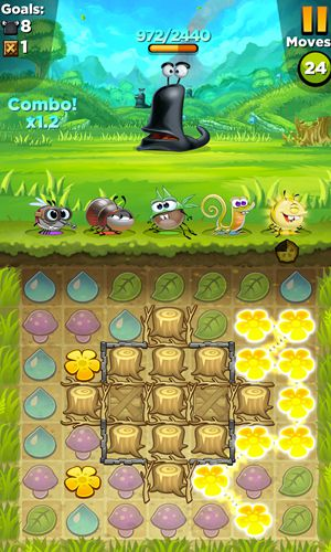 Download Best fiends iPhone free game.