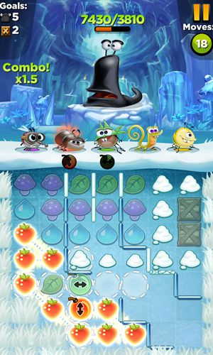 Screenshots of the Best fiends game for iPhone, iPad or iPod.