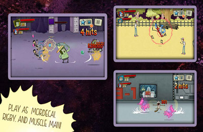 Screenshots vom Spiel Best Park In the Universe - Regular Show für iPhone, iPad oder iPod.