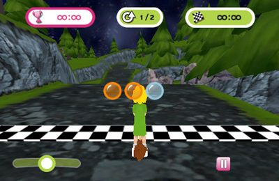 Kostenloser Download von Bibi Blocksberg – The Broom Race für iPhone, iPad und iPod.