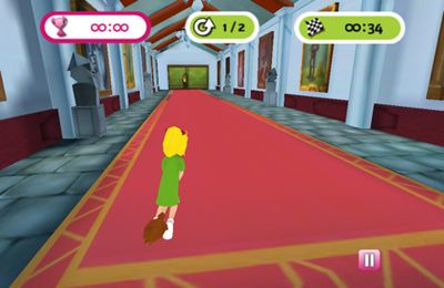 Screenshots vom Spiel Bibi Blocksberg – The Broom Race für iPhone, iPad oder iPod.