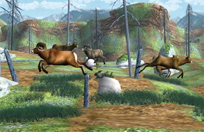 Screenshots do jogo Big Buck Hunter Pro para iPhone, iPad ou iPod.
