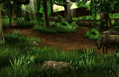 Écrans du jeu Big Buck Safari pour iPhone, iPad ou iPod.