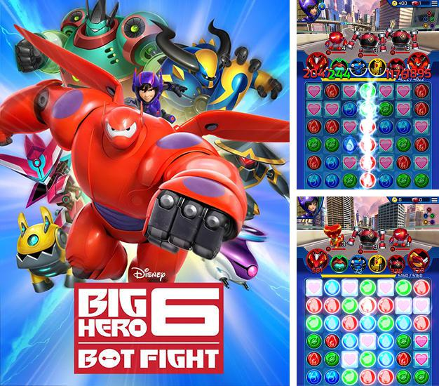 In addition to the game The amazing Bernard for iPhone, iPad or iPod, you can also download Big hero 6: Bot fight for free.