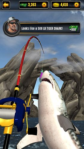 Screenshots vom Spiel Big sport fishing 2017 für iPhone, iPad oder iPod.