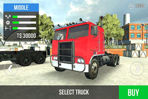 Capturas de pantalla del juego Big truck hero para iPhone, iPad o iPod.