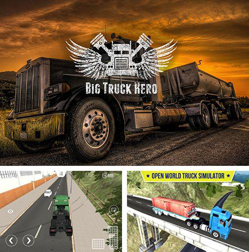 Download Big truck hero iPhone free game.