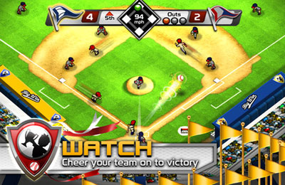 Free Big Win Baseball download for iPhone, iPad and iPod.
