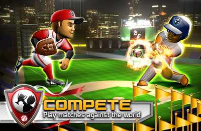 Screenshots of the Big Win Baseball game for iPhone, iPad or iPod.