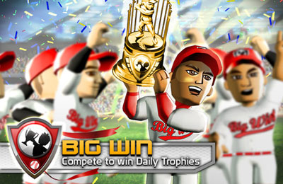 Écrans du jeu Big Win Baseball pour iPhone, iPad ou iPod.