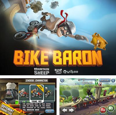 In addition to the game Wave Splitter for iPhone, iPad or iPod, you can also download Bike Baron for free.