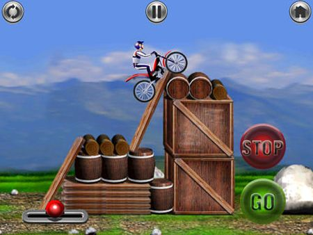 Download Bike mania iPhone free game.