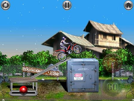 Free Bike mania download for iPhone, iPad and iPod.