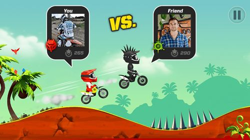 Download Bike up! iPhone free game.