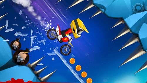 Screenshots of the Bike up! game for iPhone, iPad or iPod.