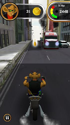 Free Biker mice from Mars download for iPhone, iPad and iPod.