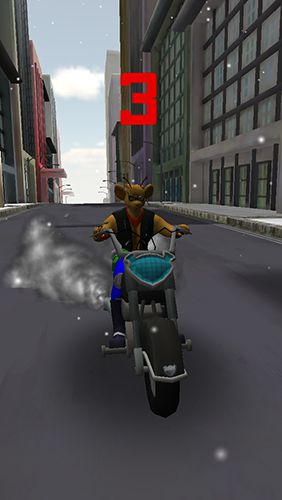 Screenshots of the Biker mice from Mars game for iPhone, iPad or iPod.