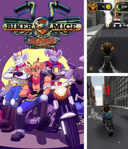 In addition to the game Captain Antarctica for iPhone, iPad or iPod, you can also download Biker mice from Mars for free.