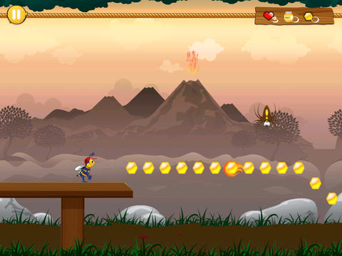 iPhone、iPad または iPod 用Billy Beez: Adventures of the Rainforestゲームのスクリーンショット。