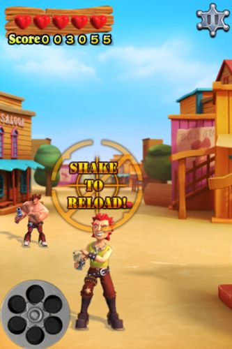 Capturas de pantalla del juego Billy's duel para iPhone, iPad o iPod.