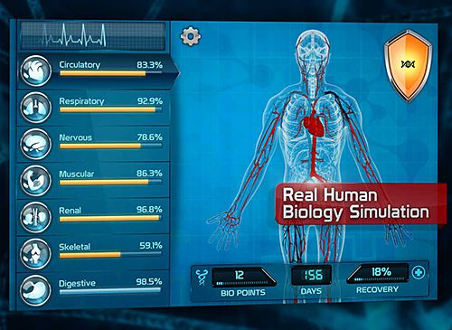 Capturas de pantalla del juego Bio Inc.: Biomedical plague para iPhone, iPad o iPod.