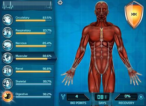 Screenshots of the Bio Inc.: Biomedical plague game for iPhone, iPad or iPod.
