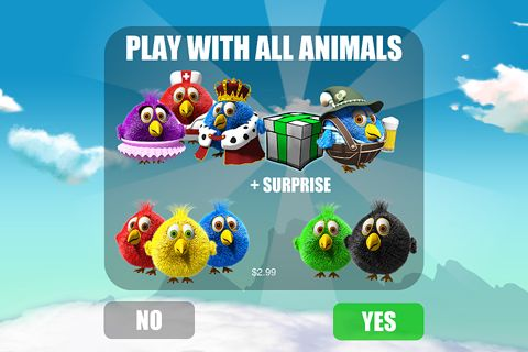 Capturas de pantalla del juego Bird duel para iPhone, iPad o iPod.