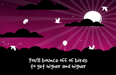 Screenshots of the Bird Jumper game for iPhone, iPad or iPod.