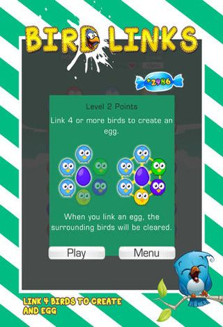 Screenshots vom Spiel Bird Links für iPhone, iPad oder iPod.