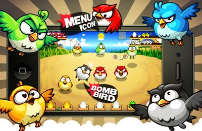 Free Bird Rush download for iPhone, iPad and iPod.
