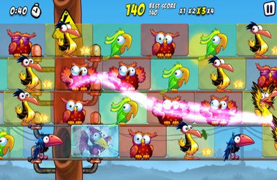 Écrans du jeu Bird Zapper: Seasons pour iPhone, iPad ou iPod.