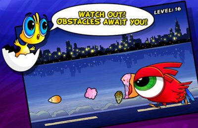 Screenshots do jogo Birds to the Rescue para iPhone, iPad ou iPod.
