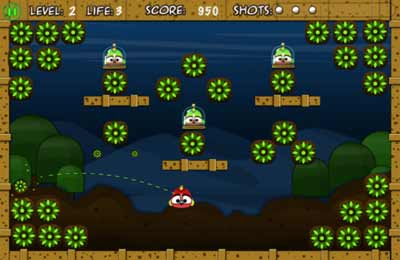 Download Birdy Bounce iPhone free game.