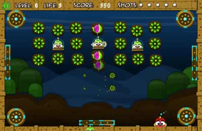 Screenshots of the Birdy Bounce game for iPhone, iPad or iPod.