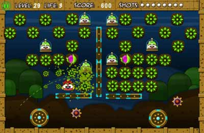Capturas de pantalla del juego Birdy Bounce para iPhone, iPad o iPod.