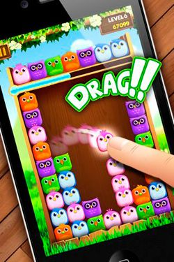 Screenshots do jogo Birzzle para iPhone, iPad ou iPod.